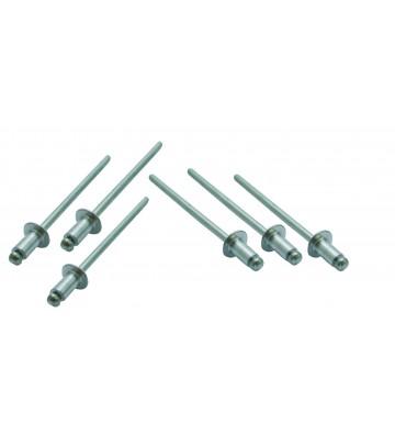 ALUMINUM PUMP RIVET 4 x 12 mm W / 50 PCS
