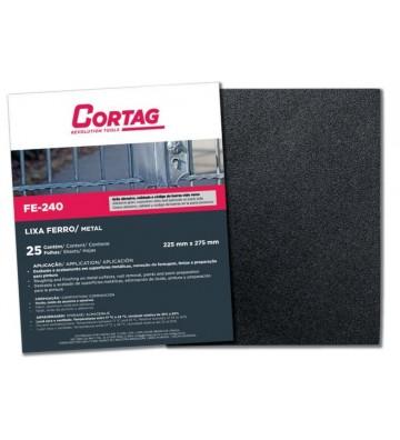 Abrasive Cloth Sheet - Metal -  FE240 060