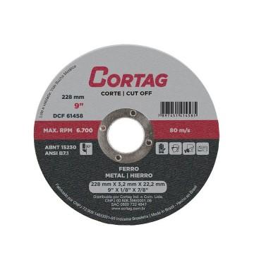DISCO DE CORTE FERRO 228 mm x 22,2 MM