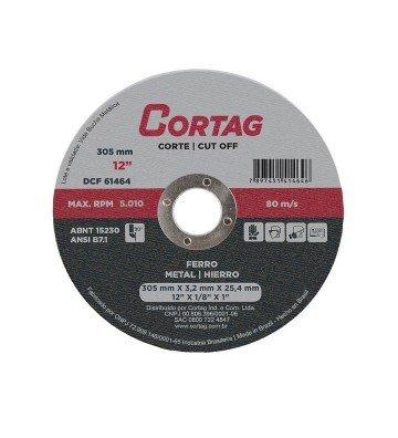 DISCO DE CORTE FERRO 304,8 mm X 25,4 MM