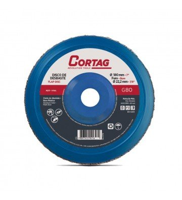 Aluminum Oxide Flap Disc  G80 - 180 mm