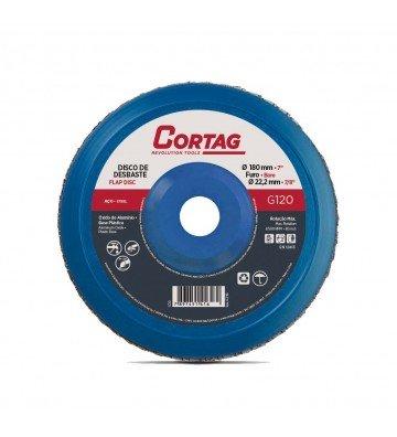 Aluminum Oxide Flap Disc G120 - 180 mm
