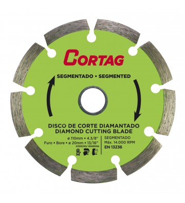 DISCO DIAMANTADO SEGMENTADO 110 MM