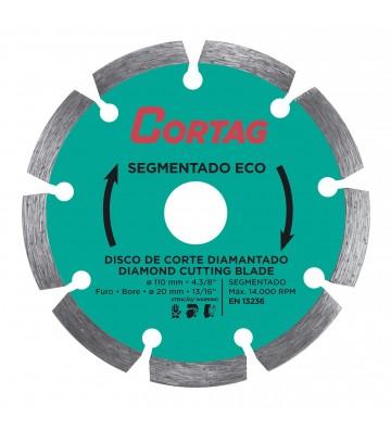DISCO DIAMANTADO SEGMENTADO ECO 110 MM