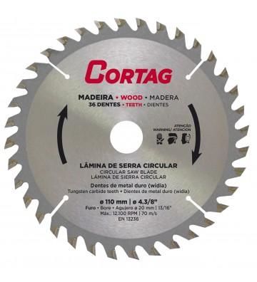 Circular Saw Blade for Wood 36 teeth Ø 185 mm