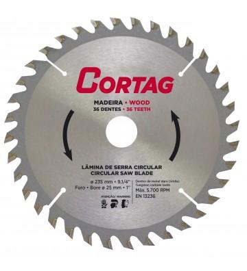 Circular Saw Blade for Wood 36 teeth Ø 235 mm