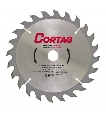 CIRCULAR SAW BLADE FOR WOOD 24 TEETH Ø 300 mm