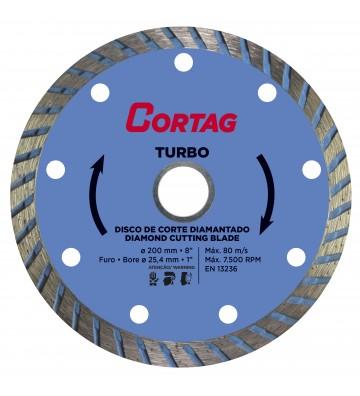 TURBO DIAMOND DISC Ø200 / HOLE Ø25,4 / REDUCTION Ø22,2