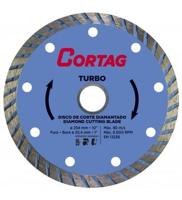 TURBO DIAMOND DISC Ø254 / HOLE Ø25.4 / REDUCTION Ø22.2