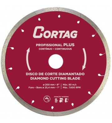 DISCO DIAMANTADO PROFISSIONAL PLUS 200 MM