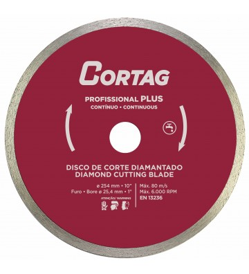 DISCO DIAMANTADO PROFISSIONAL PLUS 254 MM