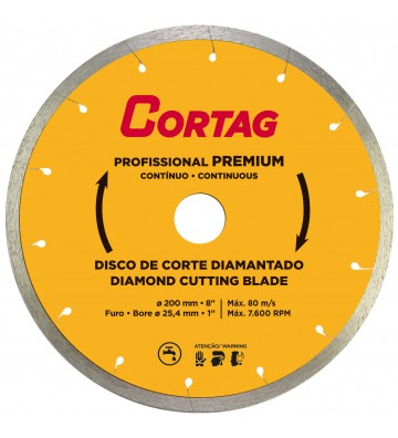 DIAMOND DISK D.200 x D.25.4 mm PROFESSIONAL PREMIUM