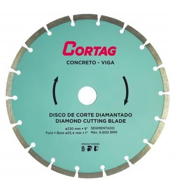 DISCO DIAMANTADO CONCRETO/VIGA 230 MM