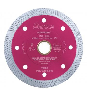 TURBO DIAMOND DISC - 115 x 22.2 mm DUROKORT