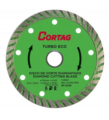 DISCO DIAMANTADO ECO TURBO 110 MM
