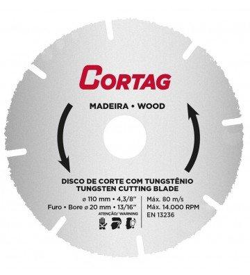 Tungsten Cutting Disc for Wood Ø 110 mm x Ø 20 mm