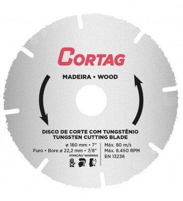 Tungsten Cutting Disc for Wood Ø 180 mm x Ø 22,2 mm